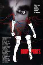 Las partes del cuerpo 1991 Poster 01 Letrero De Metal A4 12x8 Aluminio