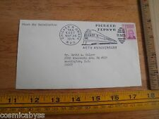 1974 Pioneer Zephyr train 40th anniversary 1st day cancellation staped envelope