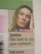 JUSTINE HENIN ANNONCE SON RETRAIT DEFINITIF A LA COMPETION : 15/02/2011