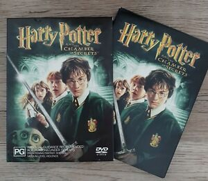 Harry Potter - Chamber of secrets - 2 disc fold out DVD - superb cond.