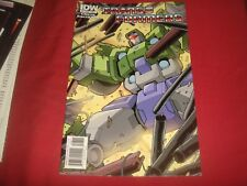THE TRANSFORMERS #8  Costa Don Figueroa Cover  IDW Comics 2010 NM
