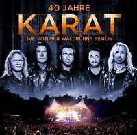 KARAT - 40 JAHRE LIVE VON DER WALDBÜHNE BERLIN 2 CD NEU