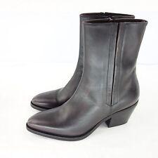 C Doux Stivali donna stivaletti JACK 60 GR 39 marrone scarpe di pelle NP 289