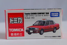 Tomy Tomica Toyota Crown Comfort Hong Kong Taxi Red 1 63 Diecast Car