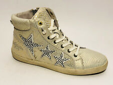 36-41 Modatipp 893661 Damen Sneakers Sneaker Boots Nieten Sportschuhe Strass Gr