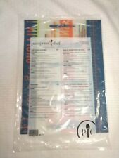Pampered Chef Flexible Cutting Mats Large 15x11in. 1519 Set Of 3 New Free Ship