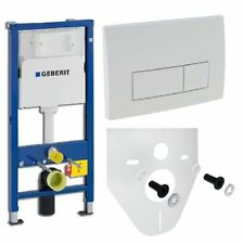 Geberit DUOFIX empotrado pared up100 Placa de empuje delta51 incl.