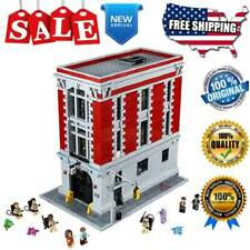 Ghostbusters Building Blocks 16001 Movie Firehouse Headquarters Model Bricks Set
