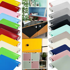 Klebefolie 7?m² Einfarbige Möbelfolien Glanz Matt Meterware selbstklebende Folie