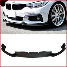For 2014UP BMW F32 F33 F36 4-Series M Sport Bumper E.CC Type Front Spoiler Lip