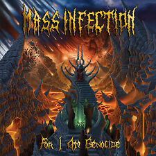 """MASS INFECTION """"For I Am Genocide"""" death metal CD"""