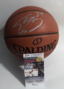 SHAQUILLE O'NEAL SHAQ Autographed Signed Spalding Basketball NBA Ball HOF JSA