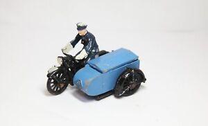 Morestone RAC Motorcycle And Sidecar - Good Vintage Original Model