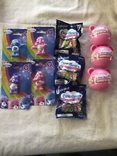Care Bears  Lot CARE-MOJI Emoji Blind Bags And Figurines  NEW (10)