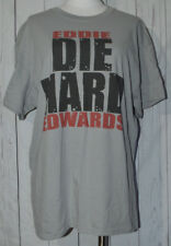 Eddie Edwards DIE HARD Ring of Honor ROH Wrestling Shirt Mens L Gray Independent