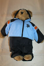"Vermont Teddy Bear Air Bear Snow Ski 15"" Jacket Pants Beanie"