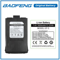 Original 7.4V 1800mAh Li-ion Battery for Baofeng GT-3 TP Mark II Two-way Radio