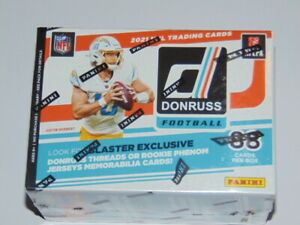 2021 Panini NFL Donruss Blaster Box - 88 Football Cards Free Shipping