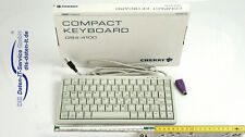 Cherry G84-4100 Compact Keyboard Kompakttastatur USB + PS/2 Adapter Neuwertig