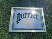 Vintage Advertising Perrier Mineral Water Retro USA France Europe Sign / Mirror