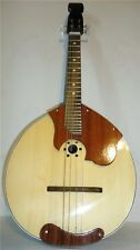 New Russian Domra 4 String Prima, Natural Wood, High Quality