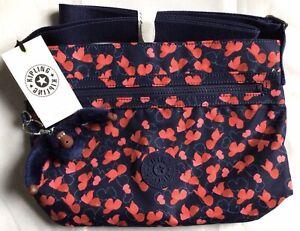 Kipling Sordet Crossbody Bag Festive Poppy New Unused