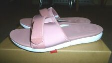 new boxed FITFLOP pink mix Neoflex Slide sandals shoes flipflops size 6/ eur 39