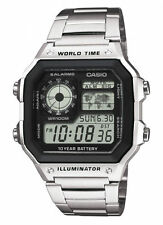 Casio Stainless Steel Wristwatches