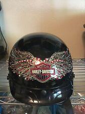 Harley Davidson Ruby Wings Helmet Ladies XXS