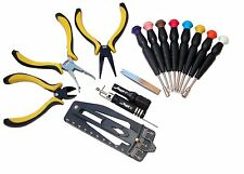 NEW 16 piece RC Helicopter Heli micro Tools Kit Car pliers Hex Torx screwdrivers