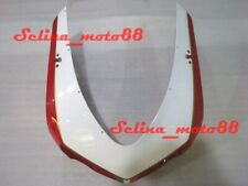 Front Fairing Nose Upper Cowl Fit For Ducati 848 1098 1198 R S 2007-2011 Red-whi
