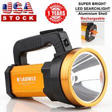 Roadwiz LED Searchlight USB Rechargeable Flashlight Spotlight Aluminum Frame