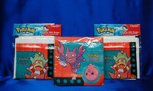 Pokemon Party # 3 - 16 Pokemon Napkins 16 Pokemon Loot Bags Set