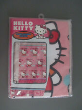"Sanrio Hello Kitty Shower Curtain 'Fluttering Hearts' Fabric 70"" x 72"""
