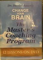 Change Your Brain The Master's Coaching Program 10 DVD Set - Dr. Daniel Amen NEW