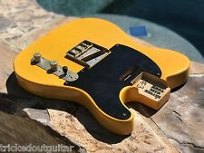 REAL LIFE RELICS AGED CUSTOM BUTTERSCOTCH TELE TELECASTER BODY SWAMP ASH #3