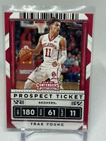 2020 Panini Contenders Draft Picks Trae Young. Prospect Ticket #23. SOONERS.