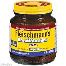 Fleischmann's Yeast for Bread Machine 4 oz jar (=to 16 yeast packets)