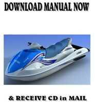 2006 Yamaha VX110 VX1100 Sport Deluxe Cruiser factory repair service manual CD