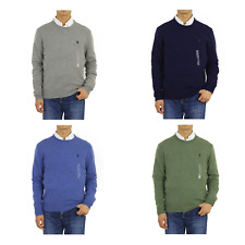 Polo Ralph Lauren Italian Yarn Crewneck Pullover Sweater -- 4 colors --