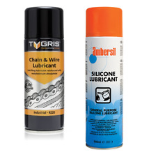Tygris & AMBERSIL Máquina De Remo Cadena Y Lubricante Aceite Spray Conjunto de Cubierta de cinta Caminadora