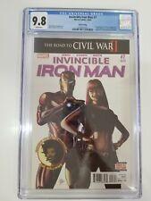 Invincible Iron Man #7 CGC 9.8 1st Appearance Riri Williams