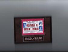 MUHAMMAD ALI VS BRIAN LONDON PLAQUE BOXING CHAMPION POSTER PHOTO PLAQUE