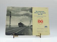 """(81/205) Märklin """"Die elektrische Miniatur-Eisenbahn Spur 00 von 1938"""