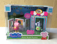 Peppa Pig Photo Booth Playtime set with Figures Peppa Pig Zoe Zebra brand new