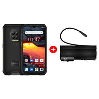 Unlocked Rugged Cell Phone Android 10 Octa Core 128GB Waterproof with Endoscope