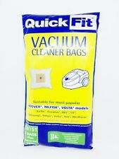 VOLTA QUICKFIT QB151 VACUUM BAGS PACKET OF 5 WITH PRE FILTER