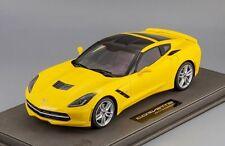 Chevrolet Corvette Stingray yellow L.E. 100 pcs. 1:18 BBR P1864B