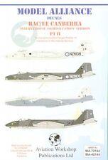 Alianza Modelo 1/48 BAC/EE Canberra B (I) tipo de combate 12s con' ' Toldos # 48144