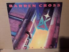 BARREN CROSS - ATOMIC ARENA - HEAVY METAL - VINYL LP - 1988 - PLAY TESTED